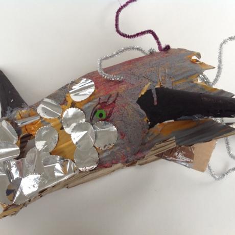Family workshop Mabinogion Masks // Gweithdy teuluol Mygydau'r Mabinogi