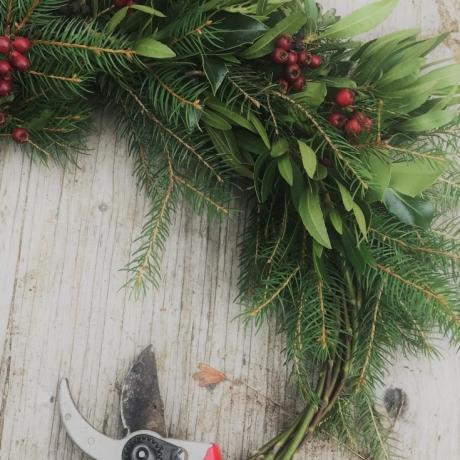 Festive Wreath / Torchau Nadoligaidd
