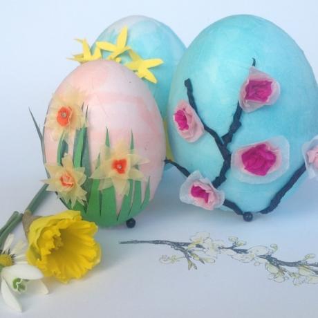 Blodau ac Wyau / Flower and Eggs