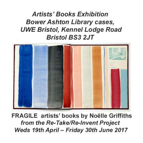 FRAGILE artist's books by Noëlle Griffiths