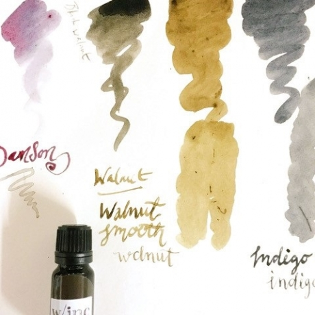 Make and draw with your own plant inks - Workshop // Gwneud inc o natur - Sgwrs