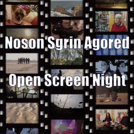 Open Screen Night | Noson Sgrin Agored