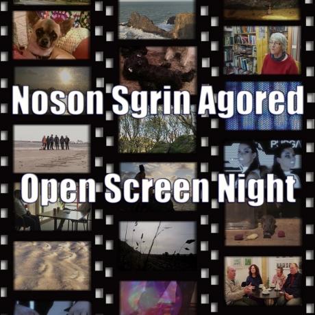 Open Screen Night   Noson Sgrin Agored