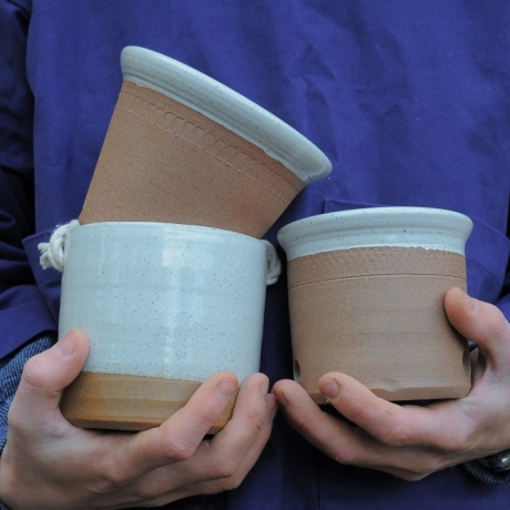 Throw your own plant pots