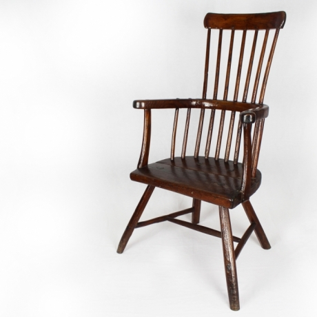 Gallery Talk: The Story of the Not-so-Humble Stick Chair by Richard Bebb