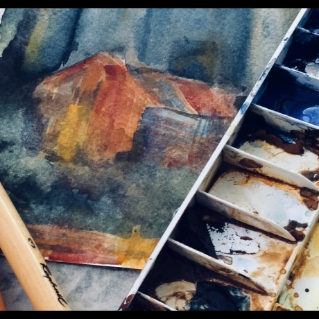 Sketchbook Walk – Kidwelly Castle with Lucy Donald