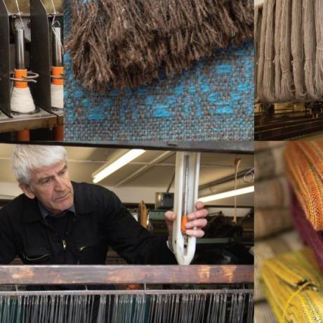 Weaving Wales: Gallery talk by Branwen Davies // Gwehyddu Cymru: Sgwrs yn yr oriel gan Branwen Davies