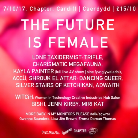 The Future is Female, obvs