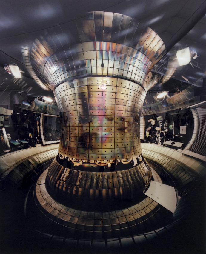 Tokamak Asdex Upgrade Interior 1, Max Planck IPP, Garching ,2010, Thomas Struth