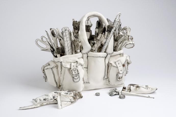 Katharine Morling - Porcelain and Black Stain
