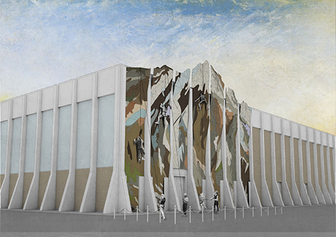 Mt Elsie - Artist's Impression  Image courtesy of Assemble