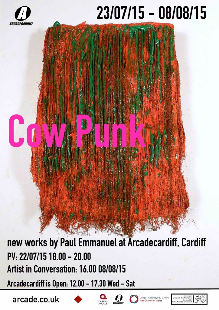Cow Punk exhibition flyer