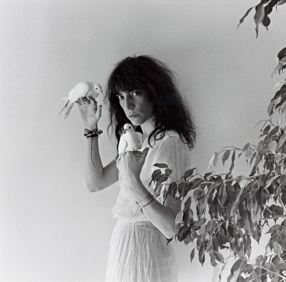 Robert Mapplethorpe Patti Smith (1979) ARTIST ROOMS Tate and National Galleries of Scotland. Acquired jointly through The d'Offay Donation with assistance from the National Heritage Memorial Fund and the Art Fund 2008 The Robert Mapplethorpe Foundation